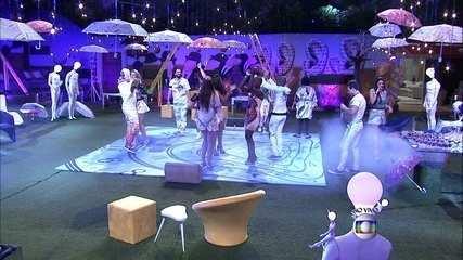 Começa a Festa Surreal no BBB15 e brothers ocupam pista de dança