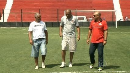 Heróis do Brasil de Pelotas recordam vitória histórica contra o Flamengo, em 1985