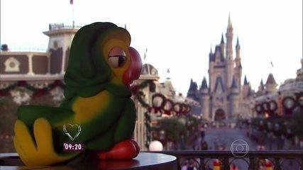 Ana Maria relembra viagem do Louro José à Disney