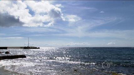 Ilha do Caribe usa água do mar para beber