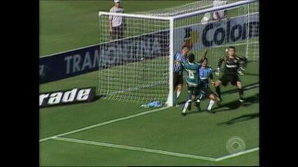 Relembre vitória do Juventude por 3 a 2 sobre o Grêmio em 2008