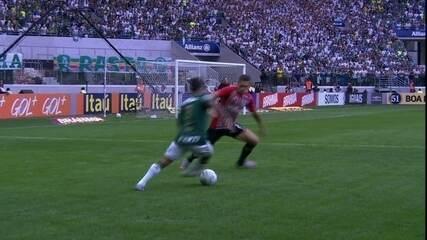Melhores momentos: Palmeiras 4 x 0 São Paulo pela 9ª rodada do Brasileirão de 2015