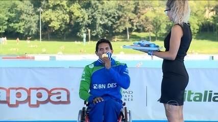 Conheça a história de Luis Carlos Cardoso, campeão paracanoagem