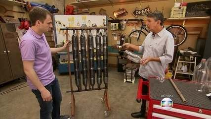 Físico ensina como fazer um aquecedor de água e economizar energia elétrica