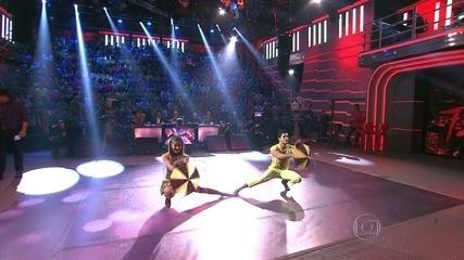 Arthur Aguiar e Mayara Araújo caem no frevo no 'Dança dos Famosos'