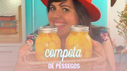 Compota de pêssegos - Dulce Delight