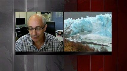 Elevação da temperatura do planeta causa derretimento na Antártica