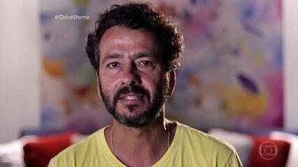 Marcos Palmeira relembra personagem marcante de Chico Anysio