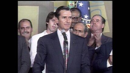Em 1992, Collor foi o primeiro presidente no Brasil afastado por impeachment