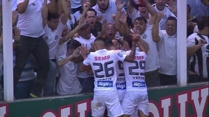 Segundo jogo: Santos 1 x 0 Audax