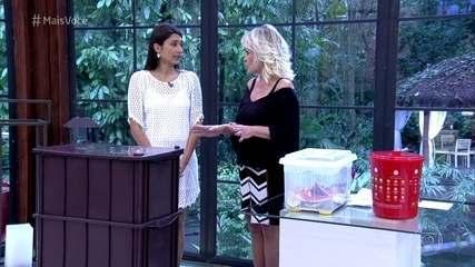 Ana Paula Silva ensina a fazer uma compostagem