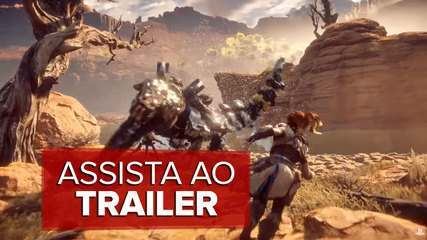 Assista ao trailer de 'Horizon Zero Dawn'