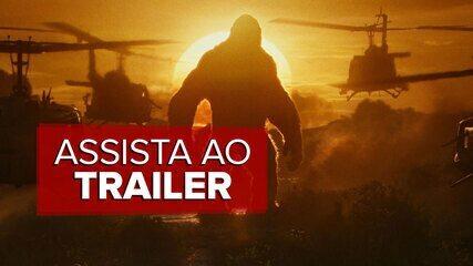 Trailer de 'Kong: A ilha da Caveira'