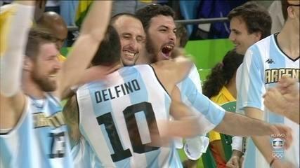 Melhores momentos: Argentina 111 x 107 Brasil pela primeira fase da Olimpíada 2016