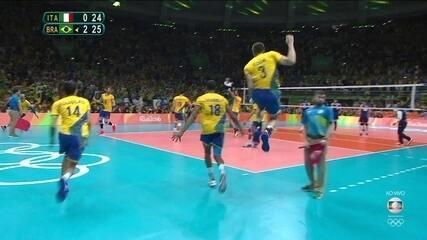 Melhores momentos: Brasil 3 x 0 Itália na decisão do ouro Olímpico