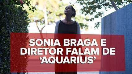 Kleber Mendonça Filho e Sonia Braga falam de 'Aquarius'