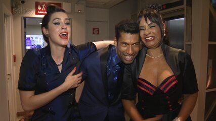 Sophia Abrahão chora muito com superação de Solange Couto no 'Dança dos Famosos'