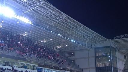 Veja o gol de Bernard e a vitória do Atlético-MG sobre o Newell's Old Boys, nos pênaltis