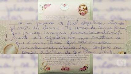 Elize Matsunaga escreve carta para a filha, que ela não vê desde que foi presa, em 2012.