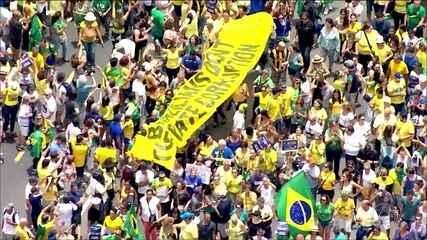 Manifestações a favor da Lava Jato reúnem milhares de pessoas em todos estados e no DF