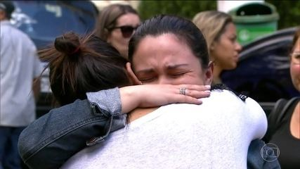 Noiva e irmão, que morreram no acidente do helicóptero são enterrados nesta segunda (5)