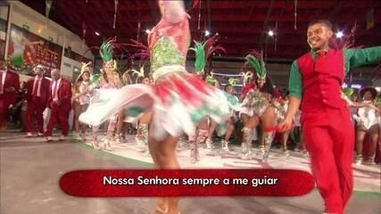 Grande Rio canta Ivete Sangalo na Sapucaí