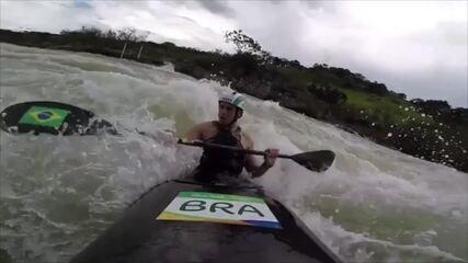 Pepê Gonçalves volta aos treinos no slalom em Piraju