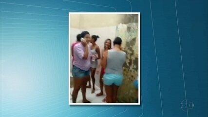 Detentas fazem festa com drogas e bebidas em presídio na capital pernambucana