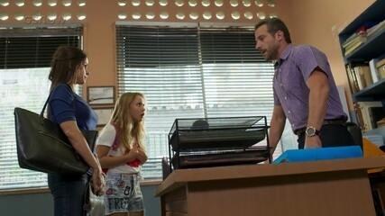 Teaser Malhação 19/01: Martinha é convidada a se retirar do Dom Fernão