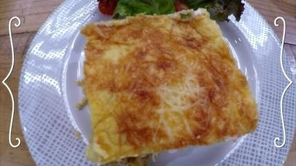 Torta de Mandioquinha com Frango
