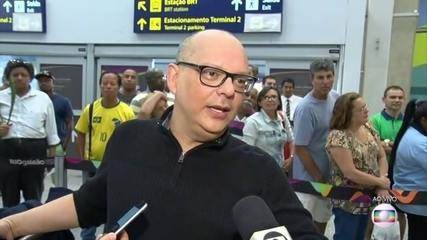 """""""Ele estava calmo e normal"""", diz passageiro que estava no voo do Eike Batista para o Rio"""