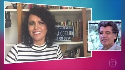 Namorada de Paulo Betti, Dadá Coelho, manda recado para o amado