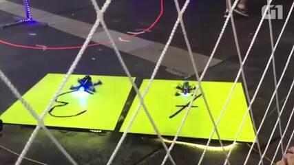 Campeão da corrida de drones na Campus comenta vitória