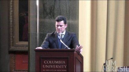 Íntegra: Juiz Sérgio Moro dá palestra na Universidade Columbia em NY