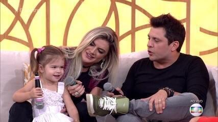Filha de Ceará manda recado para Fátima Bernardes