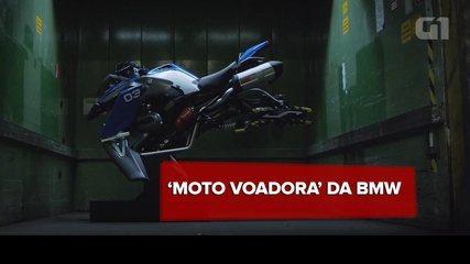 BMW e Lego criam conceito de 'moto voadora' em tamanho real