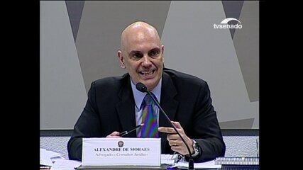Alexandre de Moraes diz que não será o revisor da Lava Jato porque é sabatinado para a Primeira Turma do STF