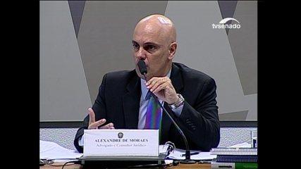 Moraes diz que princípio de presunção de inocência não impede prisões preventivas