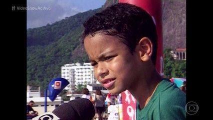 Veja a primeira participação de Sérgio Malheiros na TV