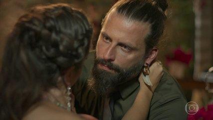 Milena discute com Ralf