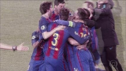 Os detalhes e depoimentos da virada épica do Barcelona sobre o PSG na Liga dos Campeões