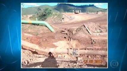 Duto de rejeitos de minério da Vale se rompe a atinge rios na região Central de MG