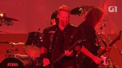 "Metallica toca ""Hardwired"" no Lollapalooza 2017"