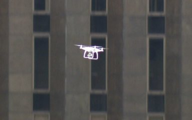 Drone cai sobre manifestantes na Avenida Paulista