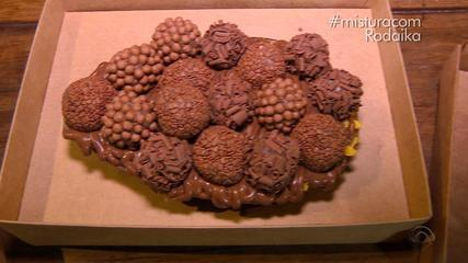 Receita de ovo de Páscoa recheado é destaque no 'Mistura'