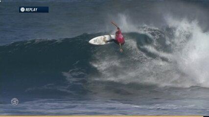 Jack Freestone surfa bem e recebe nota 8.50 contra Conner Coffin em Margaret River