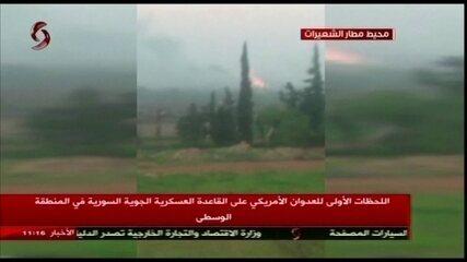 Agência síria diz que nove civis morreram no bombardeio dos EUA à Síria