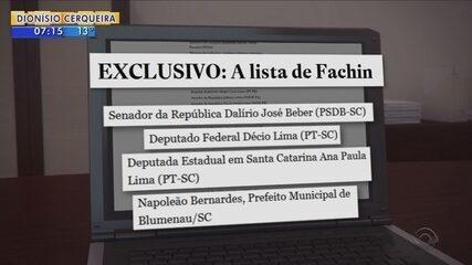 4 políticos de SC são citados em lista de investigações de Fachin; Renato Igor comenta