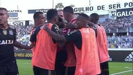 Os gols de Ponte Preta 3 a 0 Palmeiras pela semifinal do Campeonato Paulista
