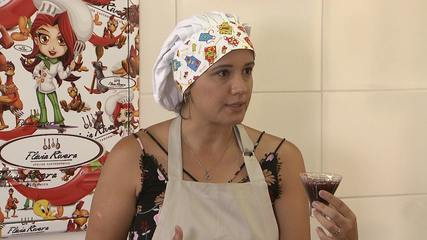 Nutricionista Thalita Cáceres fala de alimentos anticancerígenos e prepara receitas
